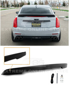 For 14-19 Cadillac CTS | Carbon Package ABS Plastic Rear Trunk Wing Spoiler