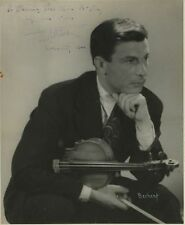 Nathan MILSTEIN (Violinist): Signed Photograph