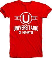 Club Universitario de Deportes Peru Football Soccer T Tee Shirt Camiseta Team