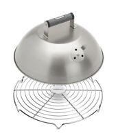 "Cuisinart 12.5"" Stainless Steel Melting Dome w Bonus 12"" Wire Rack NEW"