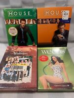 HOUSE Weeds THE WALTONS Lot of 4 DVD Season Box Sets NEW Sealed