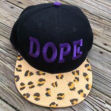 HowD Dope SnapBack Leopard baseball hat Cap One Size Adjustable