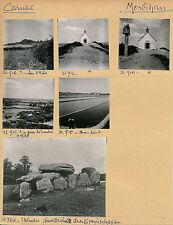 CARNAC c. 1960 -  6 Photos Morbihan Bretagne - BRE 94