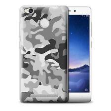 Étuis, housses et coques blancs en silicone, caoutchouc, gel pour téléphone mobile et assistant personnel (PDA) Xiaomi