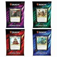 BRAND NEW | MAGIC THE GATHERING SEALED COMMANDER 2019 | Set of 4