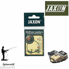 Jaxon Wolfram Leaders 15cm 10kg  Pike Fishing tungsten leader 2pcs in pack