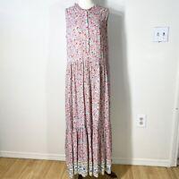 STYLE & CO. size medium floral maxi peasant prairie cottage dress
