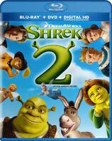 Shrek 2 (Blu-ray + DVD + Digital HD) (Blu-ray) New Blu
