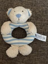 Mothercare Bear In Lifebouy Rattle Comforter G38