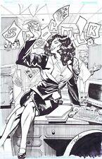 She-Hulk Marvel Comics Original Art Sketch By Artist DOMO STANTON