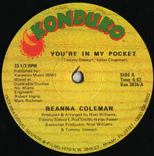"Reanna Coleman ‎– You're In My Pocket - 12"" INCH"