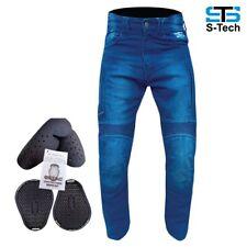 Jeans da Moto Tecnico Pantaloni Stechmoto ST666 Falcon Aramide e CE Protezione
