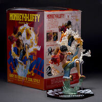 Monkey D Luffy Battle Ver Figure Japan Anime One Piece Loose Statue Xmas Gifts