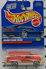 TRUCK RAM PICKUP 1997 RED 1500 #797 MOPAR DODGE BOYS MATTEL HW HOT WHEELS