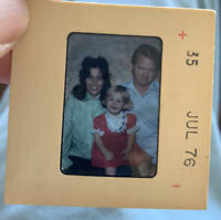 45 Years Old 1976 Collectors Projector Slides Of A Family In USA