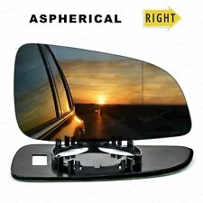 Right Driver side Wide Angle Wing mirror glass for Vauxhall Astra H 04-08