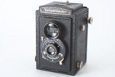 VINTAGE Voigtlander Brilliant F7.7 6x6 TLR camera from Japan m046