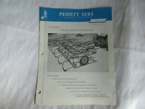 1966 Case 500 chisel plow product news brochure