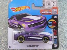 Hot Wheels 2016 #059/250 2010 chevy CAMARO SS purple HW Mild and Wild Case L