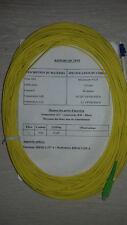 Jarretière Optique Monomode Simplex 9/125 Optronics SC-APC / LC 40m NEUVE