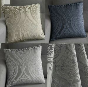 """Chateau Luxury Cushion Covers,Luxury Woven Fabric,In 2 Modern Colours 17""""x 17"""""""