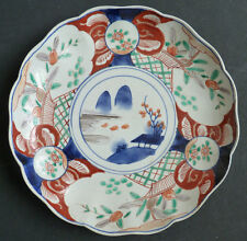 Assiette en porcelaine IMARI Chine Japon 19e siècle 19th century Japan China