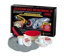 CAR Headlight Hedlamp Restoration Kit Polishing System For Plastic Lense + WAX