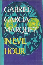 "GABRIEL GARCIA MARQUEZ ""In Evil Hour"" SIGNED First Printing w/ DRAWING of Flower"