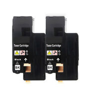 2Pk Black Toner for Xerox Phaser 6022 6020 WorkCentre 6027 6025 (106R02759)