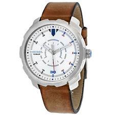 Diesel Stainless Steel Band Round Wristwatches