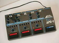 ARIA APE-1  -  80er Jahre, Japan, analog - Arias Antwort auf Ibanez UE-300 usw.