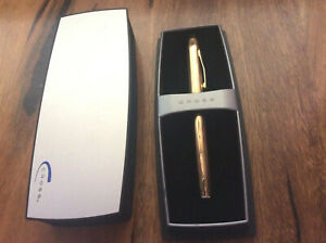 CROSS 10ct GOLD PEN in ORIGINAL BOX