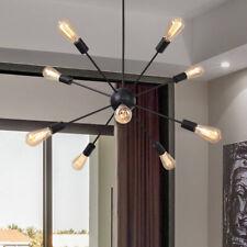 Industrial Sputnik Chandelier 9-Lights Pendant Lighting Ceiling Fixtures Home US