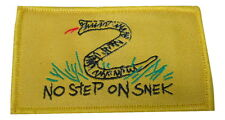 No Step on Snek Hook and Loop Patch