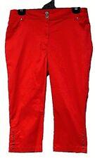 TS pants TAKING SHAPE VIRTU plus sz XS/ 14 Brookes Crop Pant stretch cotton NWT!