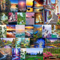5D Diamond Painting Mountain Forest DIY Landscape Embroidery Cross Stitch Mosaic