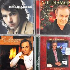Neil Diamond 4 CD Lot Hits Collection Christmas Volumes I+II + Cherry 1992-2009