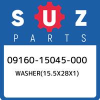09160-15045-000 Suzuki Washer(15.5x28x1) 0916015045000, New Genuine OEM Part