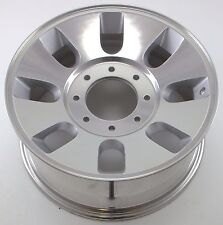 OEM Reconditioned Steel Wheel 18x8; BLACK Full Face Painted 03601 Factory