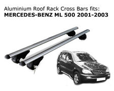 Aluminium Roof Rack Cross Bars fits MERCEDES BENZ ML 500 2001-2003
