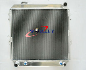 3Row Aluminum Radiator for Toyota 4 Runner Hilux VZN130 3L 3VZ-FE V6 Petrol RN80