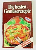 Diebesten Gemuserezepte 1985 German Paperback Cookbook by Dr Oetker Illustrated