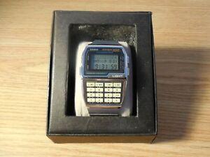 Vintage 1995 Casio DBC-3000 Data Bank 300 Digital Calculator Watch 1478 Module