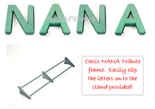 NANA Funeral Flowers Oasis Frame and Letters Tribute Naylorbase with Stand