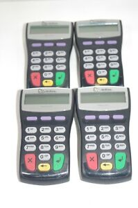 Lot of 4 VeriFone PINpad 1000SE Pin Pads Untested No Cords