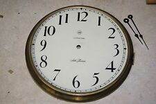 ANTIQUE SETH THOMAS BEZEL AND DIAL  USED MANTEL / SHELF CLOCK PARTS