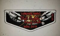 Boy Scout OA Lowanne Nimat Lodge 219 2018 NOAC NE-3A Flap
