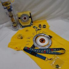UNIVERSAL STUDIOS DESPICABLE ME T-SHIRT, LANYARD, MAGNETS, FIGURES AND MORE