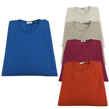 FERRANTE Men's Sweater Crew-Neck Todd & Duncan G33101 Size 60
