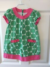 Mini Boden Dress SZ. 4-5T Pink and Green